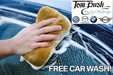 Tom Bush Car Wash Giveaway